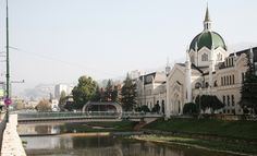 festina lente bridge in sarajevo - designboom