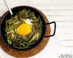 Hoy Cocinas Tú: Tagarninas esparragadas con huevo