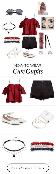 """""""Casual outfit"""" by genevievestyles on Polyvore featuring Anna October, rag & bone and Kim Rogers"""