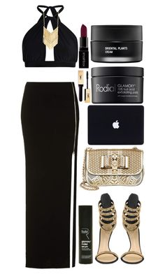 """Untitled #78"" by terezine ❤ liked on Polyvore featuring Topshop, Boohoo, Giuseppe Zanotti, Christian Louboutin, Rodial, Koh Gen Do and Smashbox"