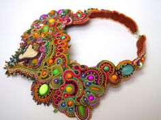 Dissident Sheep - bijoux haute couture - Elephant statement necklace