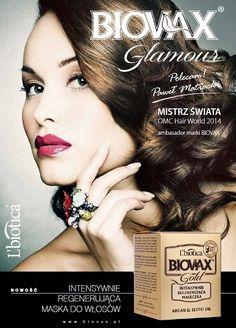 Biovax Glamour - argan & złoto