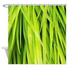 Summer Green Leaves Shower Curtain #summergreenleaves #showercurtain #shopping #shop #cafepress