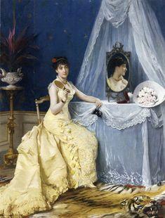A la toilette Gustave-Leonard de Jonghe - Date unknown