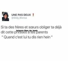 C TROPPP VRAIII😂 Some Jokes, Best Tweets, How To Speak French, Bff Quotes, Funny Messages, Stupid Funny Memes, True Stories, Cool Illusions, Fun Facts