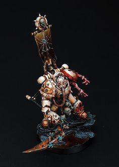 40k - Plague Marine Champion from Le Blog dé Kouzes: Plaguebones