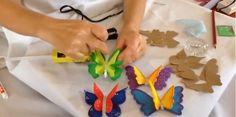 Hoy nosotros queremos enseñarles cómo hacer una mariposa 3D. Estas son muy fáciles de hacer y lucen hermosas con ese efecto que les daremos a sus alas.