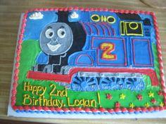 My Sweet Diversion: Thomas the Tank Engine Cake!