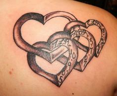 "Good tattoo for a ""sisters matching"" or ""family matching"" or childrens names tattoo by francis"