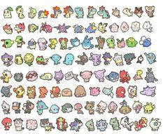 Chibi Pokemon :)