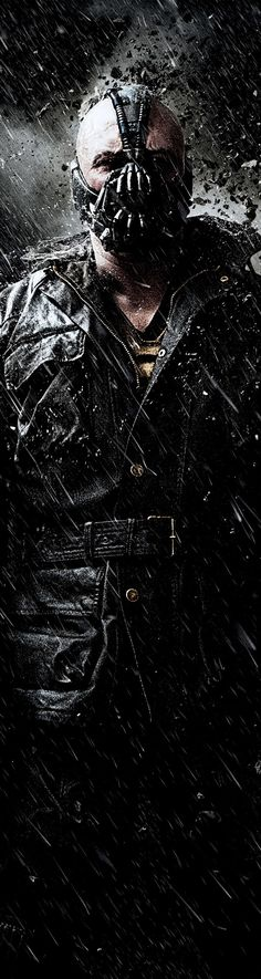 Tom Hardy as Bane in The Dark Knight Rises  2012
