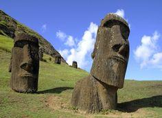 Statues de l'île de Pâques, Chili