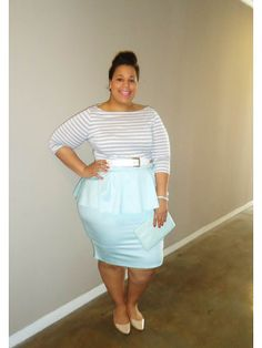 Fresh Spring Look: The Curvy Girl's Guide to Style