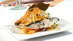 """Receta de Dorada al """"papillote"""" con verduras, apta para la dieta Dukan para fase Crucero PV y para la NUEVA dieta Dukan desde el martes"""