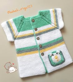 A # order # order to buy # # order # DM … – kinder mode Baby Knitting Patterns, Knitting Stitches, Knitting Designs, Baby Patterns, Baby Pullover, Baby Cardigan, Baby Sweaters, Girls Sweaters, Crochet Bebe