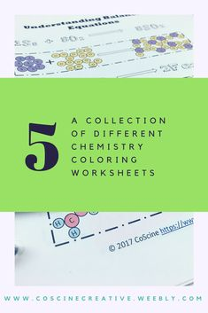 5 Chemistry Coloring Worksheets You Can Actually Learn From Chemistry Classroom, High School Chemistry, Chemistry Teacher, High School Science, Teaching Science, Christmas Word Search, Chemistry Worksheets, Chemical Equation