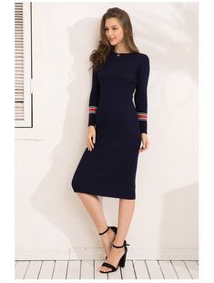 d984110ba85 Sleeve Length(cm)  Full Season  Winter Sleeve Style  Regular Pattern Type   Striped Silhouette  Sheath Material  Spandex