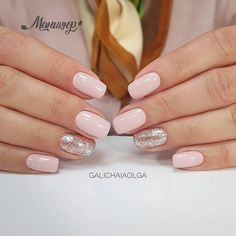business-casual-nails-squoval-light-pink-glitter Top 50 Best Business Casual Nails 2018 Nail Art Business Casual Nails Source by erincuddington casual nails Squoval Acrylic Nails, Summer Acrylic Nails, Gel Nails, Casual Nails, Classy Nails, Pink Wedding Nails, Wedding Manicure, Mauve Wedding, Summer Nails