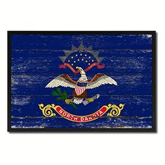 North Dakota State Flag Map Modern Style Black Custom Made Frame Home Office Decoration Designed Housewarming Art Souvenir Gift Ideas AllChalkboard http://www.amazon.com/dp/B00ZJA98PE/ref=cm_sw_r_pi_dp_v21Ivb19J2YX9