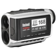 Bushnell Hybrid Laser GPS Golf Laser Rangefinder with PinSeeker Technology Best Golf Rangefinder, Rangefinder Camera, Bushnell Golf, Golf Gadgets, Golf Range Finders, Golf Push Cart, Golf 2, Golf Course Reviews, Golf Gifts