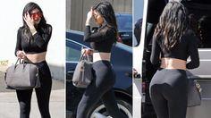 Kylie Jenner yang baru berusia 17 tahun itu dikabarkan hamil - INDOSPORT.com