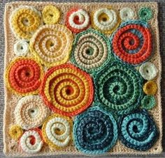 freeform crochet by dolly