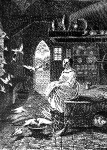 Cinderella illustrated by Ludwig Emil Grimm