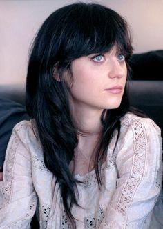 dark hair, pale skin, blue eyes, possibly northern nyad/nixie