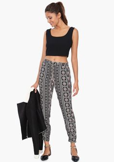 Truly Tribal Harem Pants in Multi | Necessary Clothing
