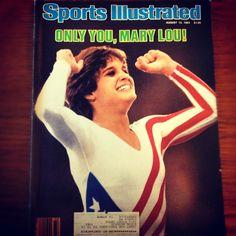 Mary Lou Retton! Go USA!