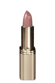 Want a cool-toned beige-pink for less dough? Look to L'Oreal's Fairest Nude.Save: L'Oreal Color Riche Lip Color in Fairest Nude, $5.99, available at Target. #refinery29 http://www.refinery29.com/best-nude-lipstick#slide-6