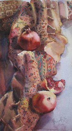 Персидская ткань ---------  (кликните по изображению, чтобы открыть его в полный экран)