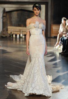 I'm leaving my husband for Inbal...Inbal Dror Wedding Dresses Fall 2015 | Maria Valentino/MCV Photo