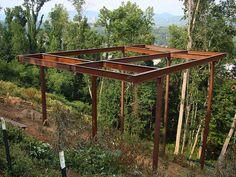 hillside house foundation