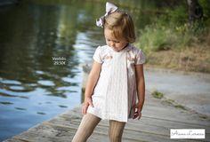 Vestido para bebé ya disponible en http://aianalarocca.com/ #modainfantil