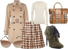 """burberry .6"" by jkoehler on Polyvore"