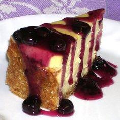 White Chocolate Blueberry Cheesecake - Allrecipes.com