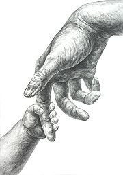 Hold my hand Realistic Pencil Drawings, Amazing Drawings, Art Drawings Sketches, Cute Drawings, Human Figure Sketches, Figure Sketching, Figure Drawing, Tattoo Painting, Hand Kunst