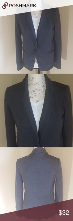 "LC Lauren Conrad grey Blazer size 6 EUC Measurements are approximate and taken laying flat  Pit to pit 17"" Pit to bottom hem 15 1/2"" LC Lauren Conrad Jackets & Coats Blazers"