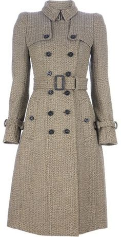 Burberry Tweed Trench