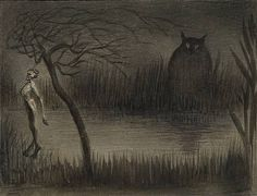 The Pond by Alfred Kubin 1905