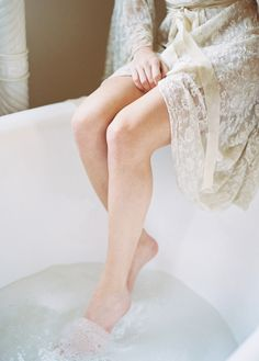 Rejuvenate Yourself With A Relaxing Foot Soak Claire Pettibone, How To Cure Depression, Spa, Summer Romance, Bridal Boudoir, A Perfect Day, Lingerie, Bathing Beauties, Feet Care