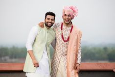 JadeBlue Style Inspirations for the Groom and his Groomsmen Achkan, Groomsmen Outfits, Indian Fabric, Indian Groom, Sherwani, Groom Style, Groomsman Gifts, Festival Outfits, Menswear