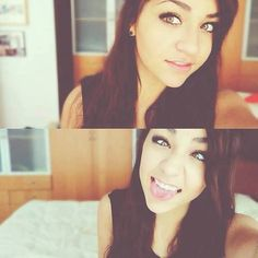 Andrea Russett! (: She is gorgeous *.*