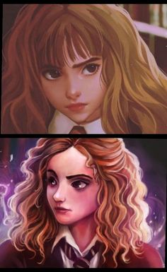Hermione's look.