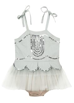 Twinkle, twinkle, little star, oh how lovely you are! Our glittering Ever After Onesie is to keep forever. www.tutudumonde.com