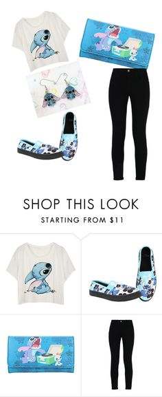 """""""Stitch!"""" by kcschnak ❤ liked on Polyvore featuring Disney and STELLA McCARTNEY"""