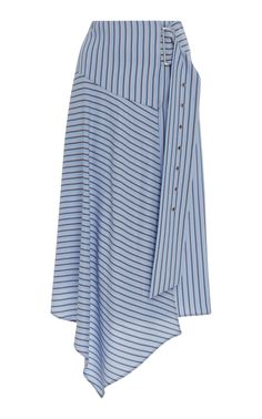 White summer skirt 3008 Chiffon white skirt-pants with pockets