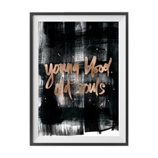 DESCRIPTION Professionally printed on satin paper using archival quality inks and copper foiling. Free Mind, Young Blood, Framed Prints, Art Prints, International Artist, Art Of Living, Buy Frames, Love Art, Free Design
