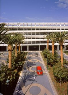 California Disneyland Parking Structure | Harry Wolf | Archinect